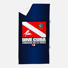 Dive Cuba Beach Towel