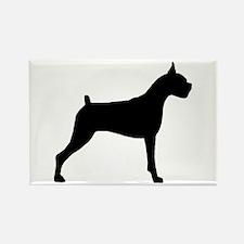 Boxer Dog Rectangle Magnet (10 pack)