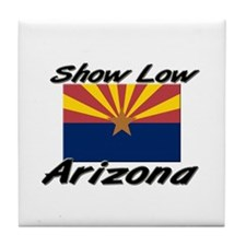 Show Low Arizona Tile Coaster