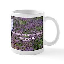 """""""Resting in Lavender"""" Inspirational Mug"""