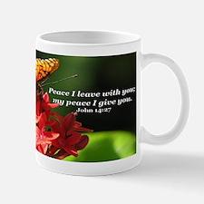 """Giving Peace"" Butterfly Mug"