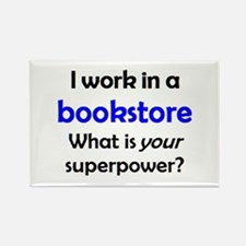 work in bookstore Rectangle Magnet