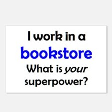 work in bookstore Postcards (Package of 8)
