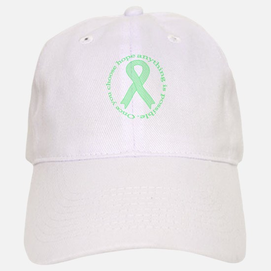Mint Green Hope Baseball Baseball Cap