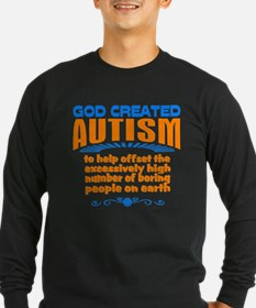 Funny autism Long Sleeve T-Shirt