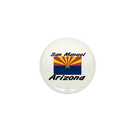 San Manuel Arizona Mini Button