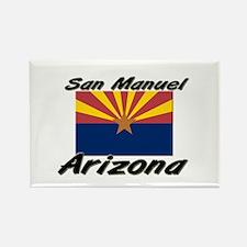 San Manuel Arizona Rectangle Magnet