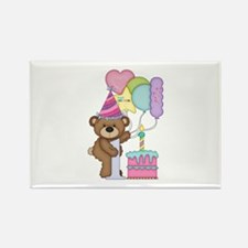Celebrate My 1st Birthday Magnets