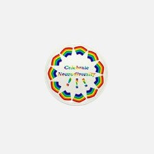Mini Button (10 Pack)* Celebrate Neurodiversity