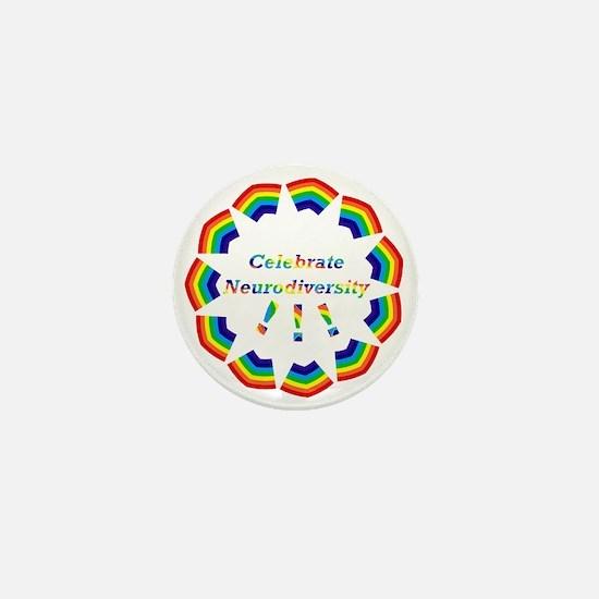 Mini Button * Celebrate Neurodiversity