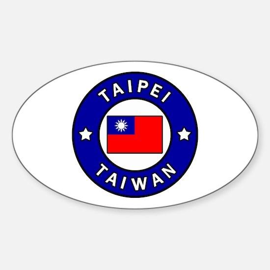 Unique Taipei Sticker (Oval)