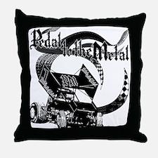 Pedal to the Metal - Sprint Throw Pillow