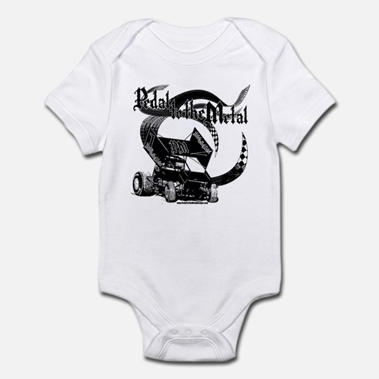 Pedal to the Metal - Sprint Infant Bodysuit
