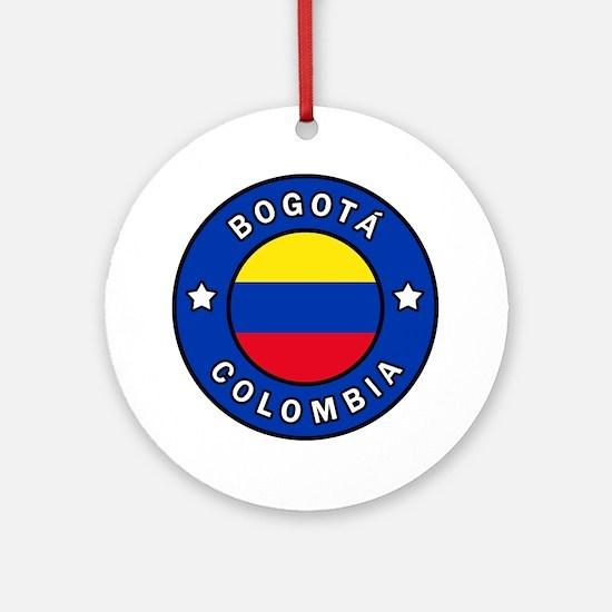 Cute Bogota Round Ornament