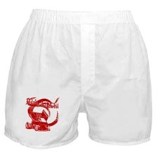 Pedal to the Metal - Red Boxer Shorts
