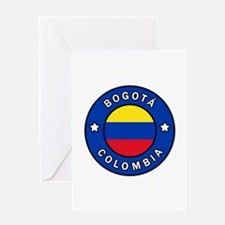 Bogota Colombia Greeting Cards