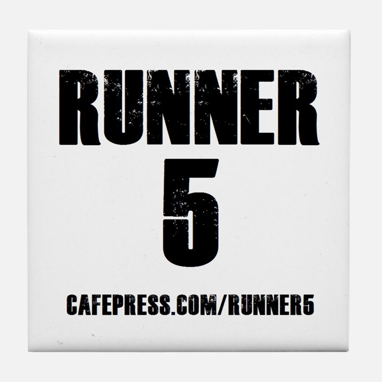 RUNNER 5 Tile Coaster