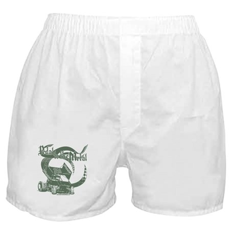 Pedal to the Metal - Green Boxer Shorts