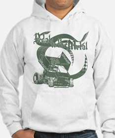 Pedal to the Metal - Green Hoodie
