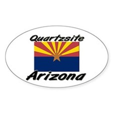 Quartzsite Arizona Oval Decal