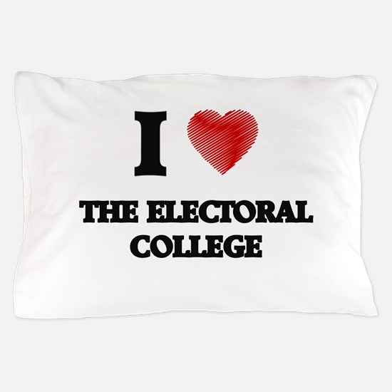 I love THE ELECTORAL COLLEGE Pillow Case