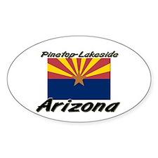 Pinetop-Lakeside Arizona Oval Decal
