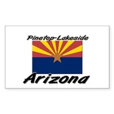 Pinetop-Lakeside Arizona Rectangle Decal