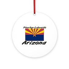 Pinetop-Lakeside Arizona Ornament (Round)