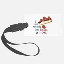 Cheese & Cake Luggage Tag