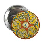 Lughnasadh Celtic Spiral Button