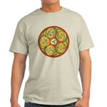 Lughnasadh Celtic Spiral Light T-Shirt