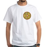 Lughnasadh Celtic F/B White T-Shirt