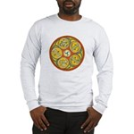 Lughnasadh Celtic Spiral Long Sleeve T-Shirt
