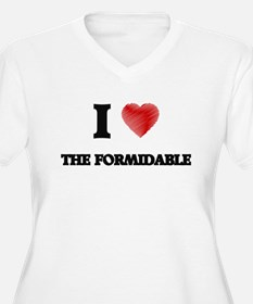 I love The Formidable Plus Size T-Shirt