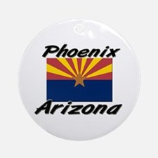 Phoenix Arizona Ornament (Round)