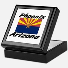 Phoenix Arizona Keepsake Box