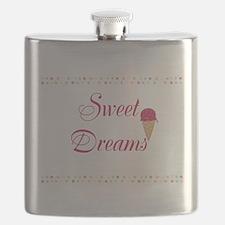 Cute Funny Sweet Dreams Flask