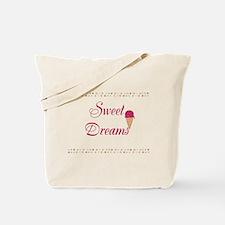 Cute Funny Sweet Dreams Tote Bag