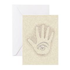 Earthtone Petro EyeHand Greeting Cards (Pk of 20)