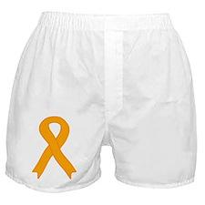 Orange Ribbon Boxer Shorts