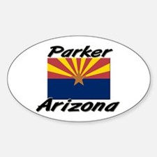 Parker Arizona Oval Decal