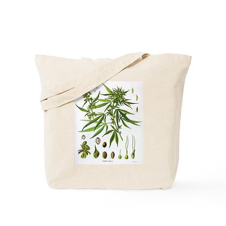 Cannabis Sativa Tote Bag