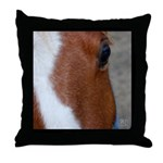Eye of an Equine Throw Pillow