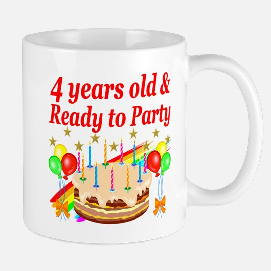 4TH BIRTHDAY Mug