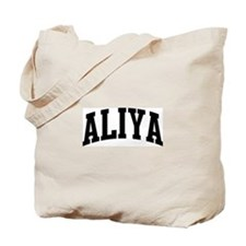 ALIYA (curve) Tote Bag