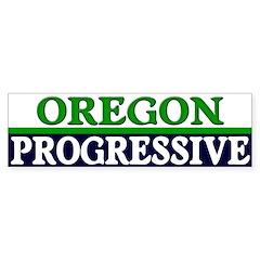 Oregon Progressive Bumper Bumper Sticker