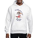 NH CenterOfAttention Great Dane Hooded Sweatshirt