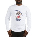 NH Center Of Attention Great Dane Long Sleeve T