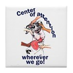 NH Center Of Attention Great Dane Tile Coaster