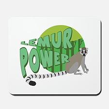 Lemur Power Mousepad